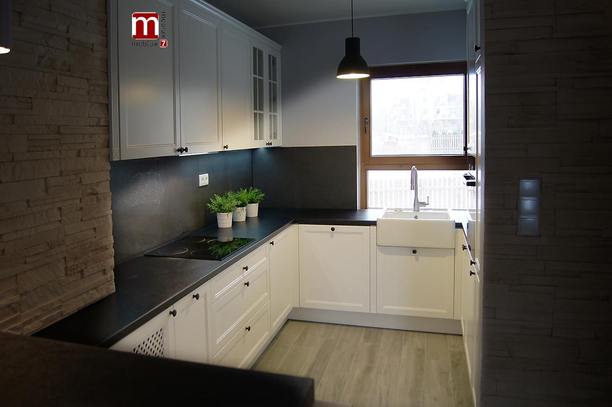 Kuchnie Wrocław – Meblux7, meble kuchenne na wymiar » Biała kuchnia prowansalska -> Kuchnia Prowansalska Nowoczesna