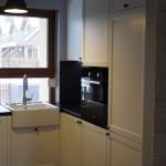 Kuchnia prowansalska w kolorze białym - zlew